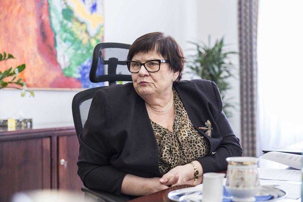 Ministryně spravedlnosti Marie Benešová