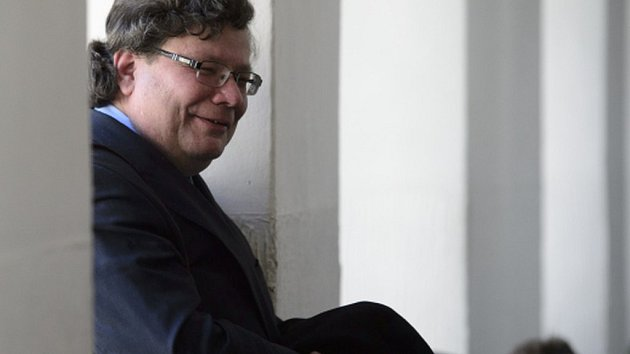 Někdejší místopředseda vlády pro evropské záležitosti Alexandr Vondra (ODS).
