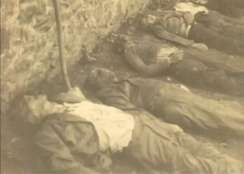 Zavraždění muži v Třešti