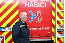 Velitel Hasičského záchranného sboru Škoda Auto Stanislav Cihelník