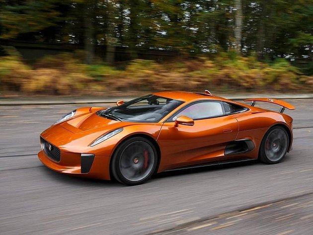 Jaguar C-X75 Bond Concept.