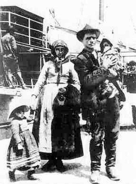 V druhé polovině 19. století proudily na severoamerický kontinent celé rodiny imigrantů z Evropy, ne vždy ale měli bohužel štěstí