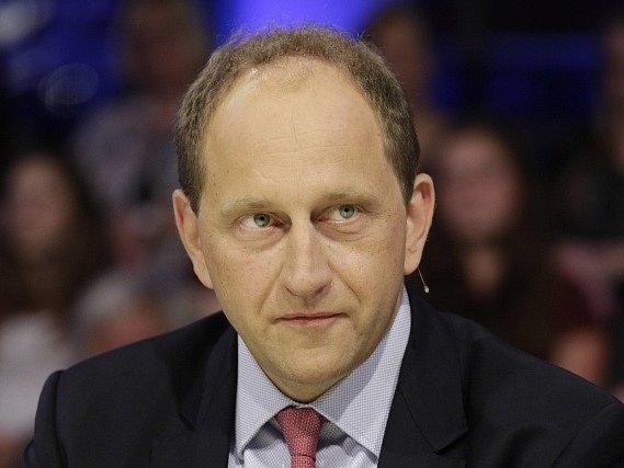 Místopředseda Evropského parlamentu Alexander Graf Lambsdorff.