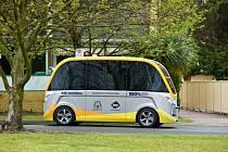 Testování autonomního autobusu