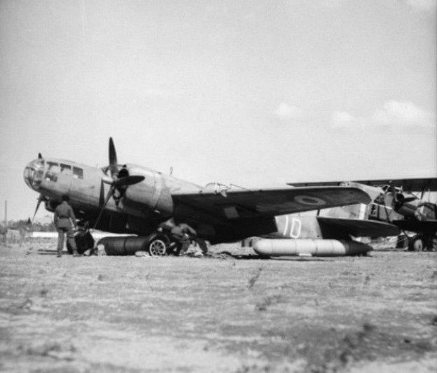 Letadlo vichistické Francie, které padlo do rukou Spojenců, Allepo 1941