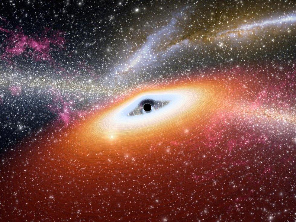Vizualizace černé díry