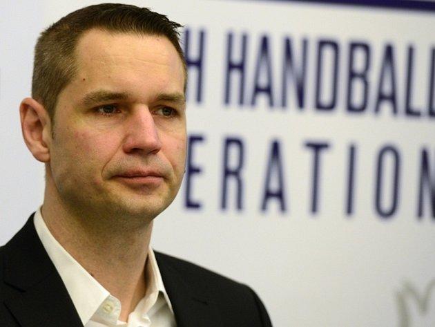 Trenér české házenkářské reprezentace Jan Filip.