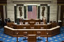 Sněmovna reprezentantů v americkém Kongresu. Ilustrační foto