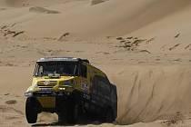 Aleš Loprais na Rallye Dakar.