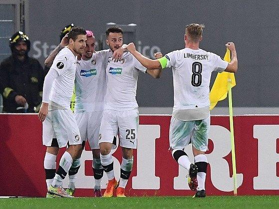 Evropská liga: AS Řím - Viktoria Plzeň