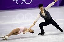 Japonská sportovní dvojice Miu Suzaki a Ryuichi Kihara.
