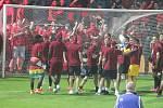 Finále MOL Cupu mezi FC Slovan Liberec a AC Sparta Praha