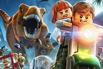 Počítačová hra Lego: Jurassic World.