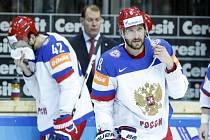 Alexandr Ovečkin (vpravo) ke zlatu Rusku nepomohl.