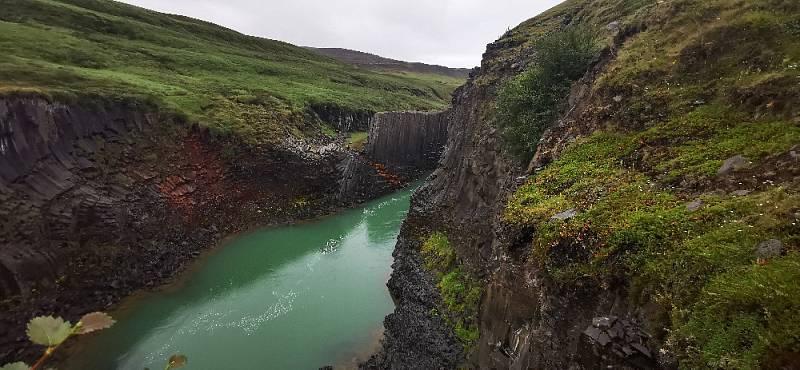 Čedičový kaňon Studlagjl