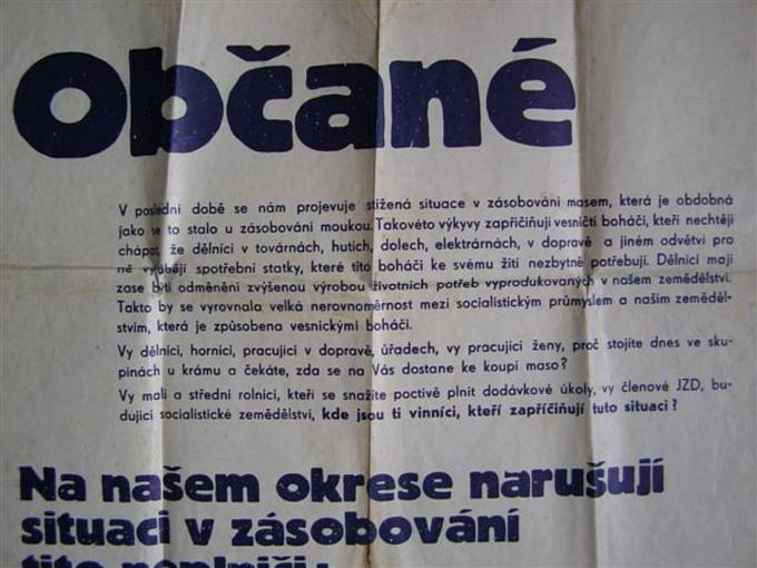 Násilná kolektivizace venkova: neplniči dodávek