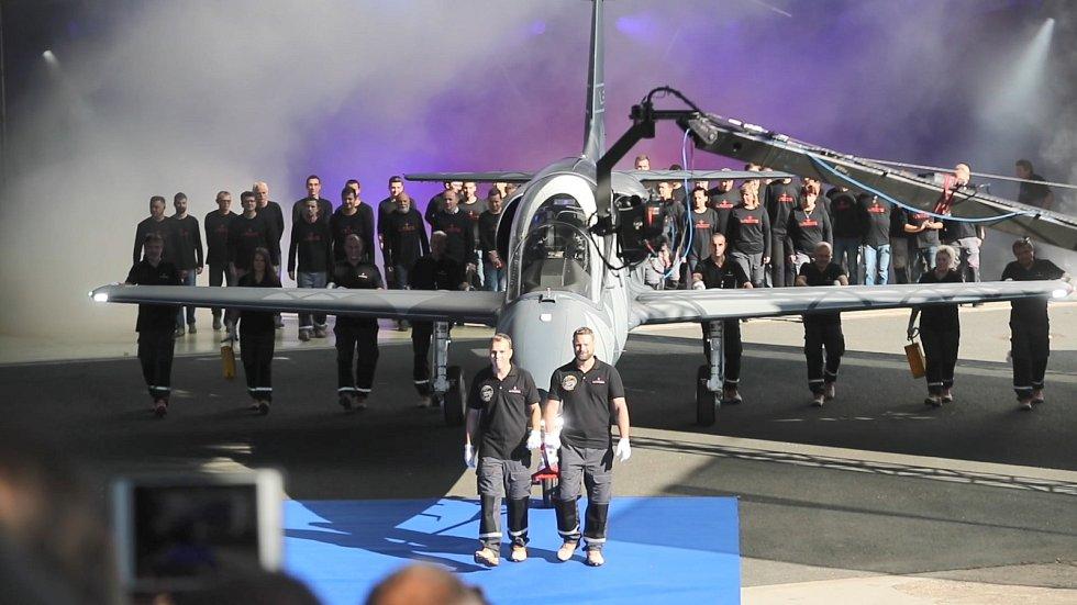 Slavnostní představení nového letounu L-39NG