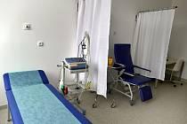 Odběrová místnost v nemocnici - ilustrační foto
