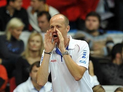 Kapitán fedcupového týmu Petr Pála.