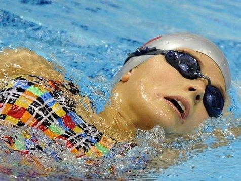 Česká plavkyně Simona Baumrtová.