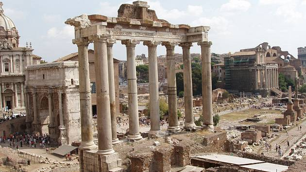 Forum Romanum v Římě
