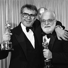 Miloš Forman a Saul Zaentz, producent