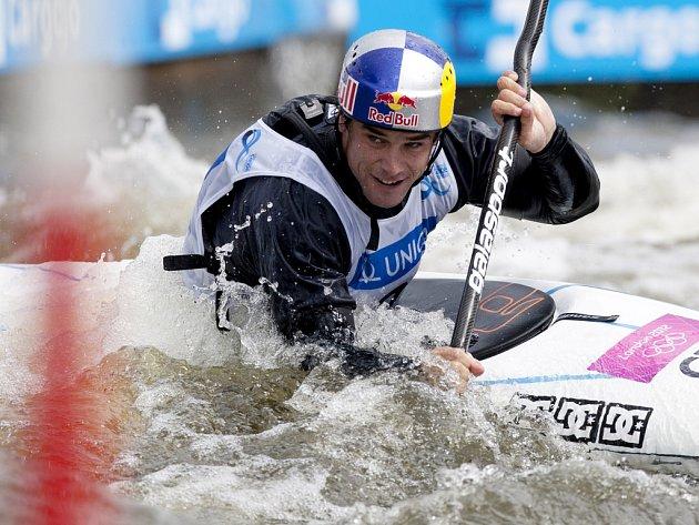 Kajakář Vavřinec Hradilek ve Světovém poháru v Troji.