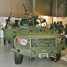 Vozidlo LRVP Gepard v nové úpravě