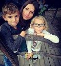 Žokejka Martina Havelková s rodinou