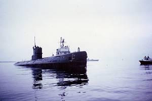 Sovětská ponorka S-363, která najela u švédského ostrova Torumskär na mělčinu a zůstala uvězněná ve vojenském pásmu nedaleko přístavu Karlskrona