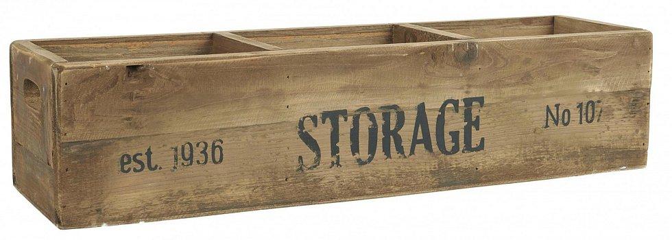 Úložný dřevěný box Storage.