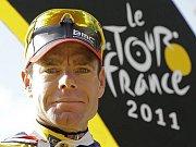 Nový král Tour de France Cadel Evans.