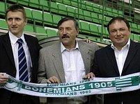 Martin Frelich,Antonín Panenka a Dariusz Jakubowicz