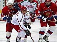 Alexandr Lukašenko na ledě