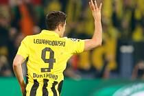 Čtyři góly, Robert Lewandowski z Dortmundu svojí střeleckou show srazil Real Madrid.