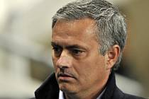 Trenér Realu Madrid José Mourinho.
