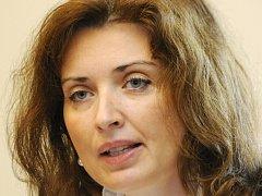 Vládní zmocněnkyně pro lidská práva Monika Šimůnková (na snímku z 24. října 2011) byla odvolána z pozice šéfky sekce pro lidská práva na Úřadu vlády.