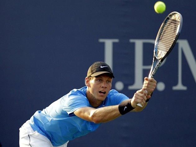 Tomáš Berdych na US Open.