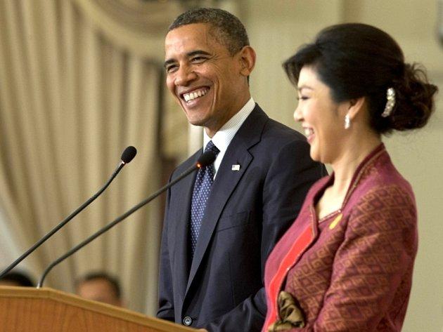 Prezident USA Barack Obama v neděli 18. listopadu 2012 v Thajsku zahájil třídenní cestu po jihovýchodní Asii.