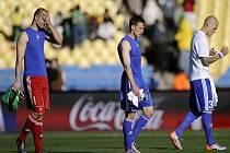Slovenští fotbalisté přišli ve svém prvním vystoupení na mistrovství světa o vítězství nad Novým Zélandem ve třetí minutě nastaveného času. Nakonec jen remizovali 1:1