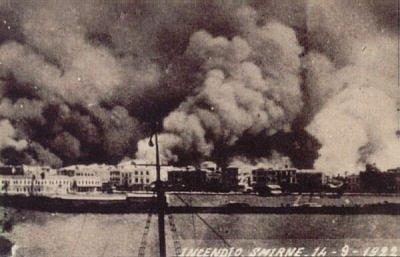 Velký požár Smyrny v roce 1922