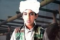 Hamza bin Ládin na snímku z roku 2001.
