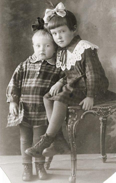 Irina Juřinová v roce 1932.