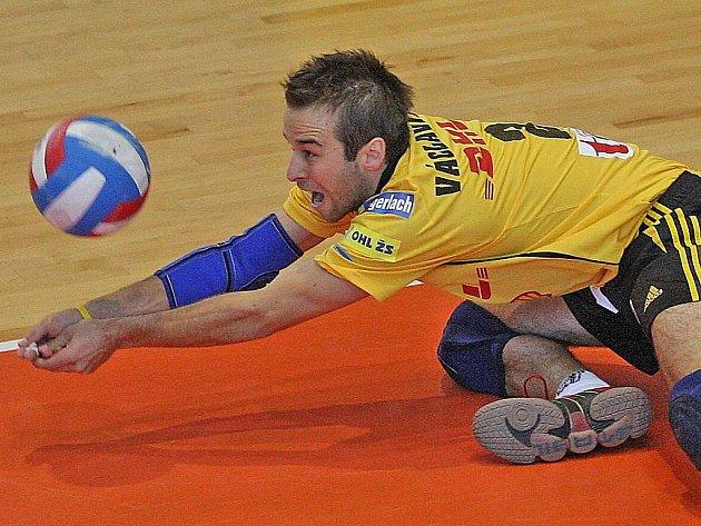 Jan Václavík z Ostravy je jediným zástupce české extraligy ve výběru na mistrovství Evropy.