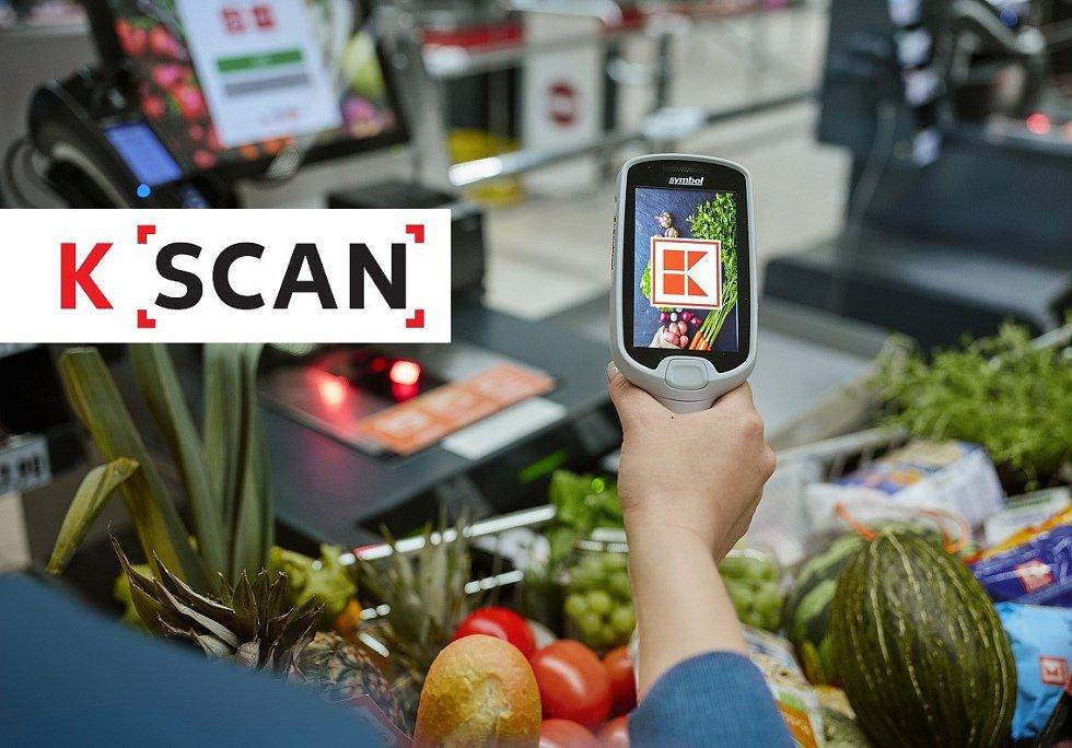 Technologie K Scan obchodního řetězce Kaufland.