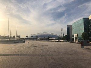 Fotbalové stadiony pro MS v Kataru