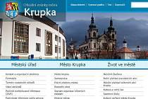 oficiální internetové stránky města Krupky