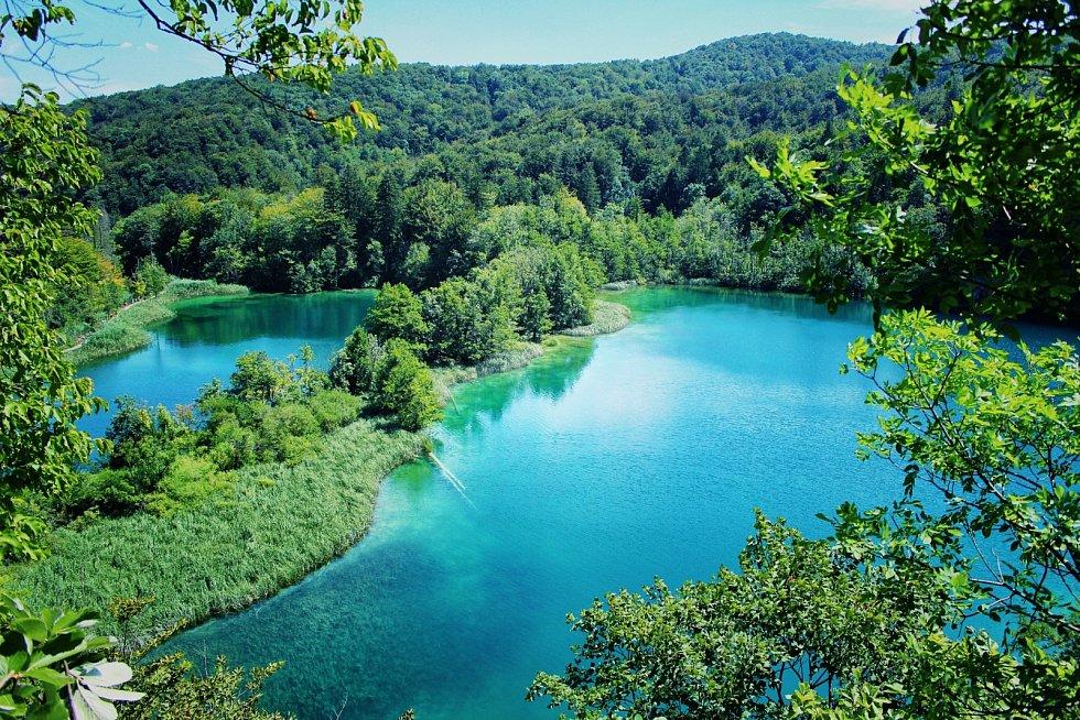 Chorvatský národní park Plitvická jezera proslavil film o Winnetouovi.