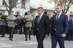 Výročí 100. let Martinské deklarace. Andrej Babiš a Peter Pellegrini