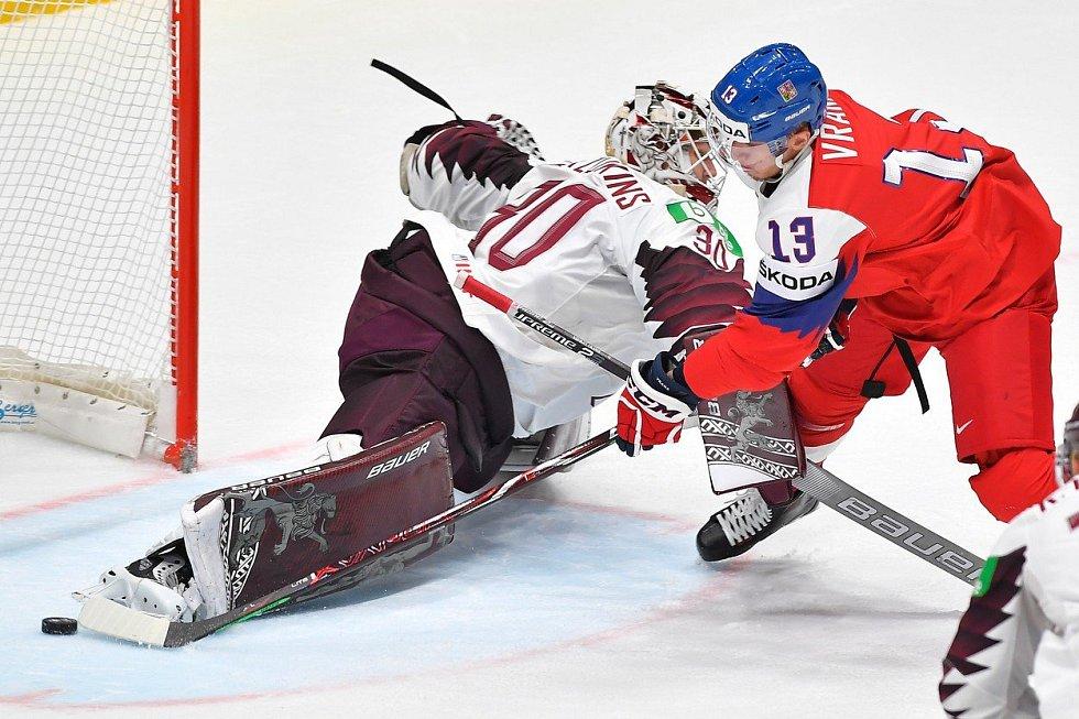MS v hokeji 2019, ČR - Lotyšsko